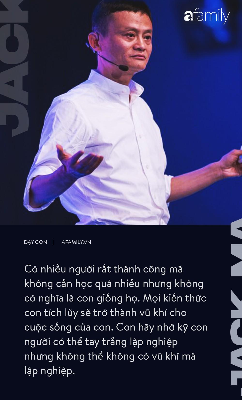 9 điều dạy con không thể thấu đáo hơn của  tỉ phú Jack Ma-5