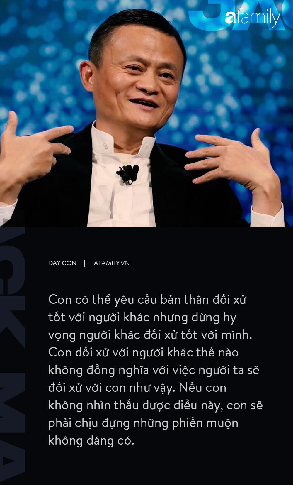 9 điều dạy con không thể thấu đáo hơn của  tỉ phú Jack Ma-7