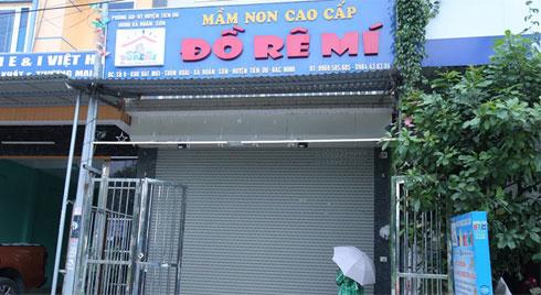 Vụ bỏ quên bé 3 tuổi trên xe ở Bắc Ninh: Tạm đình chỉ cơ sở mầm non