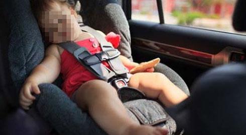 Những lưu ý đề phòng sốc nhiệt cho trẻ khi đi xe hơi
