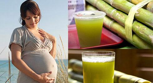 Bà bầu uống nước mía khi mang thai: Lợi ích và lưu ý