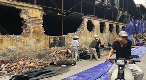Công bố nguyên nhân vụ cháy nhà kho Công ty Rạng Đông