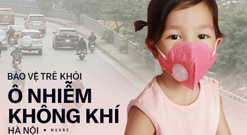 Hà Nội ô nhiễm không khí nghiêm trọng: Cách bảo vệ trẻ khỏi tác hại do môi trường gây ra