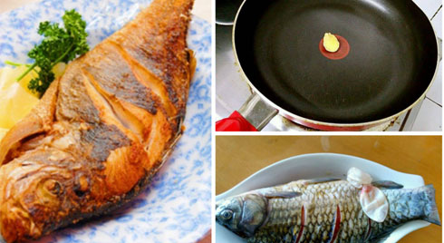 Mẹo rán cá luôn vàng giòn không sát, thơm ngon hơn cả ngoài hàng