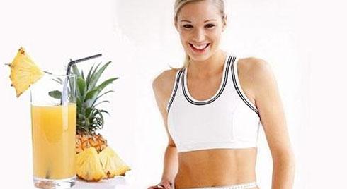 Cách giảm cân đơn giản bằng dứa