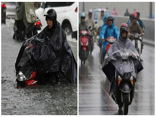 Nguyên tắc 'xương máu' khi đi xe tay ga mùa mưa bão để tránh rủi ro-1
