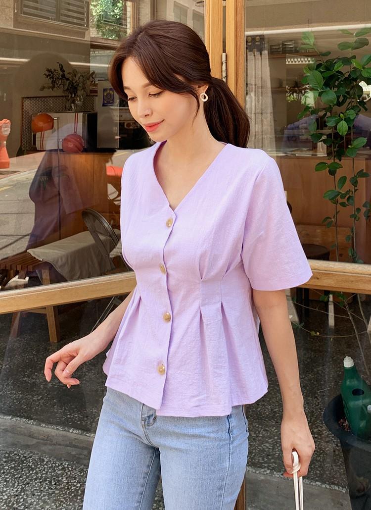 """Đã có 3 kiểu áo blouse tạo hiệu ứng dáng mi nhon"""" này, bạn béo một tí cũng không lo-11"""
