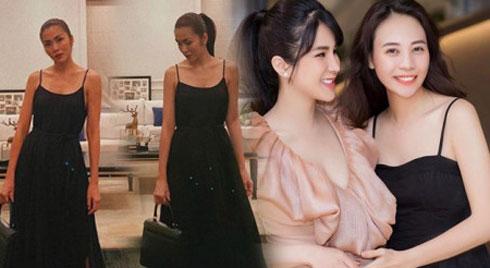 Có chồng là đại gia, Hà Tăng và Đàm Thu Trang đều đua nhau diện mẫu váy đơn giản này