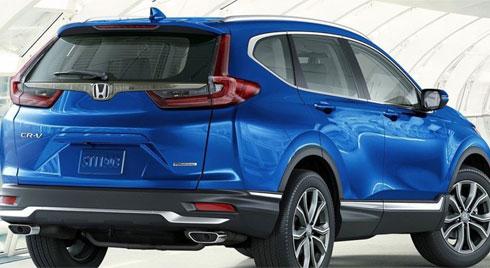 So sánh Honda CR-V 2020 với các phiên bản cũ