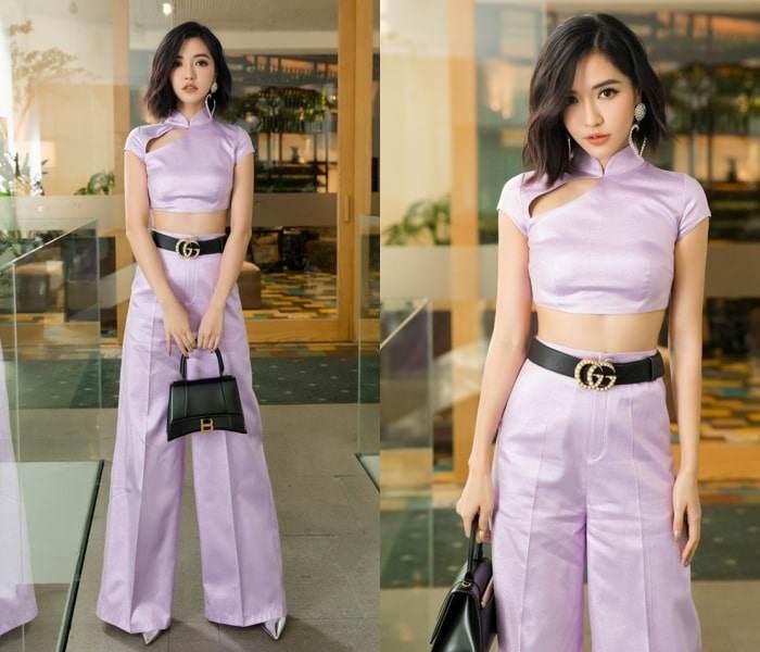 Bị coi là gam màu sến sẩm, vậy mà mỹ nhân Việt vẫn đua nhau lên đồ cùng sắc tím-4