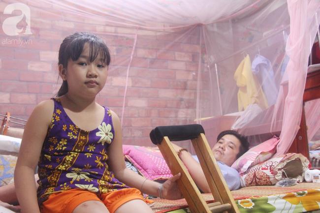 Con gái 7 tuổi bị gãy chân, chồng nằm liệt giường, người vợ bệnh tật khẩn cầu sự giúp đỡ sau vụ tai nạn kinh hoàng-13
