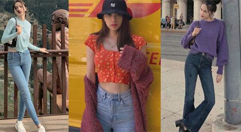Học ngay 11 set đồ của Hoa hậu Hương Giang cách mix quần jeans từ đơn giản đến cá tính