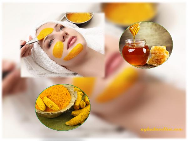 Cách làm mặt nạ từ tinh bột nghệ đơn giản giúp đẹp da và điều trị mụn hiệu quả