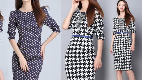 Tổng hợp những mẫu váy thu đông sang chảnh cho nàng công sở