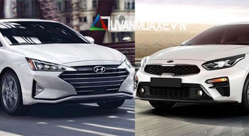 Hyundai Elantra 2019 và KIA Cerato 2019: Chọn xe Hàn nào?