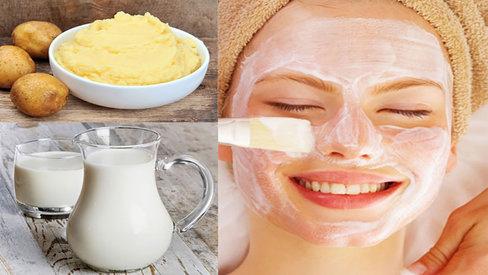 Mặt nạ trị mụn trắng da đơn giản từ những nguyên liệu từ thiên nhiên