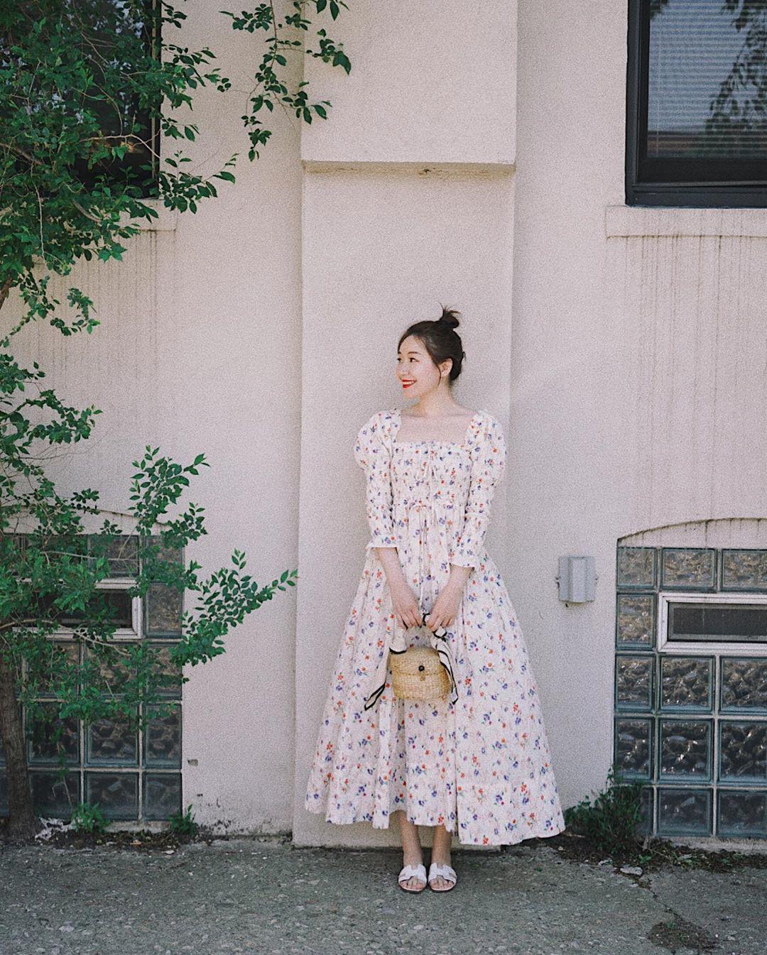 Không kiểu váy nào vượt qua được váy dáng dài về độ sang chảnh, yêu kiều và hợp rơ với tiết trời se lạnh-6