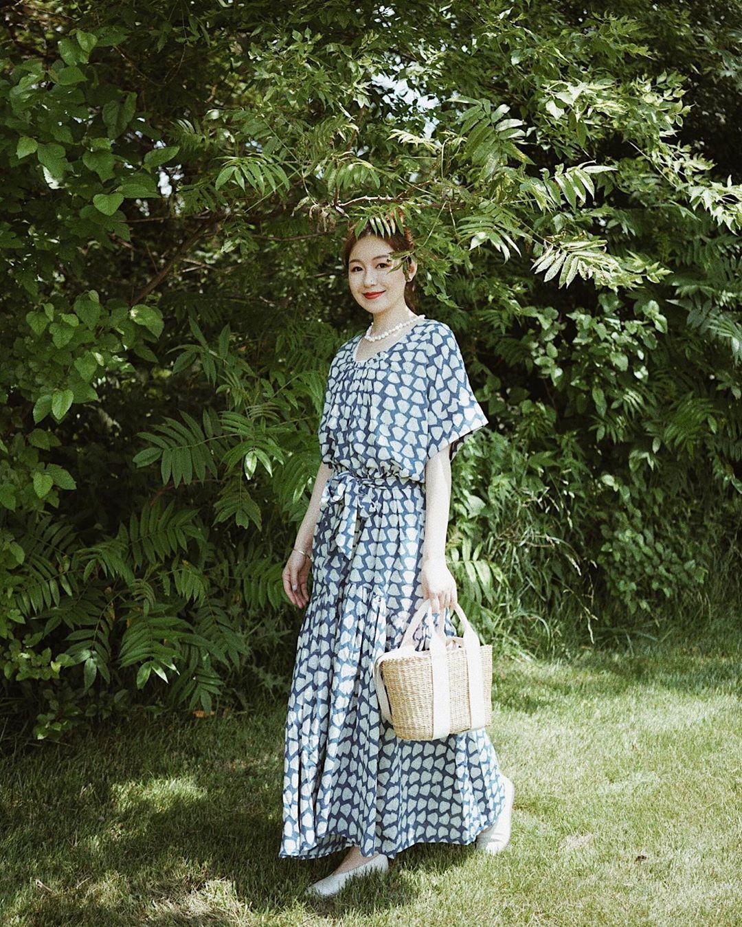 Không kiểu váy nào vượt qua được váy dáng dài về độ sang chảnh, yêu kiều và hợp rơ với tiết trời se lạnh-15