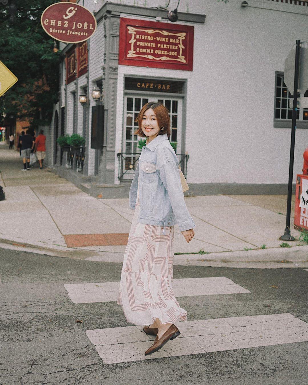 Không kiểu váy nào vượt qua được váy dáng dài về độ sang chảnh, yêu kiều và hợp rơ với tiết trời se lạnh-4