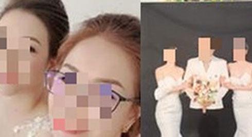 """MXH xôn xao về đám cưới """"1 ông 2 bà"""" ở Thái Nguyên: 2 cô dâu vô cùng thân thiết trong bức ảnh cưới và hé lộ 1 phần sự thật phía sau"""