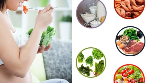 9 siêu thực phẩm cực tốt cho 3 tháng đầu tiên của thai kì