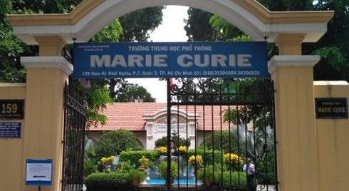 Học sinh trường Marie Curie chém nhau nhập viện