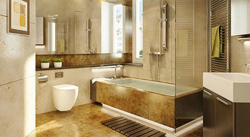 Nhà vệ sinh đặt ngay trong phòng, nhanh tay làm thế này tiền vào như nước