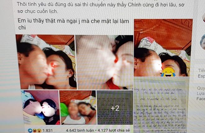 Nữ sinh lớp 12 viết tâm tư tự nguyện trao thân cho thầy giáo 55 tuổi, một loạt ảnh nóng tràn lan trên mạng-3