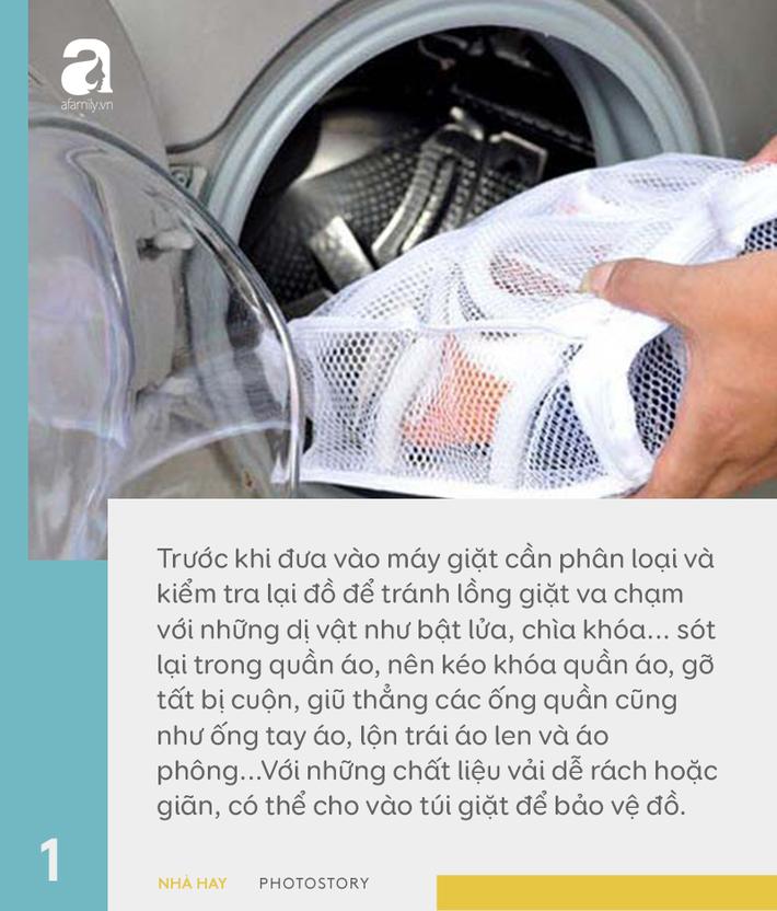 6 hướng dẫn hữu ích cho việc sử dụng máy giặt đúng cách, giúp tăng tuổi thọ dùng được trên 10 năm-1