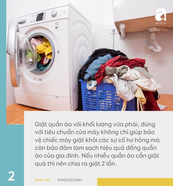 6 hướng dẫn hữu ích cho việc sử dụng máy giặt đúng cách, giúp tăng tuổi thọ dùng được trên 10 năm-2