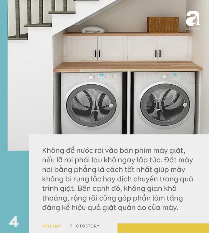6 hướng dẫn hữu ích cho việc sử dụng máy giặt đúng cách, giúp tăng tuổi thọ dùng được trên 10 năm-4