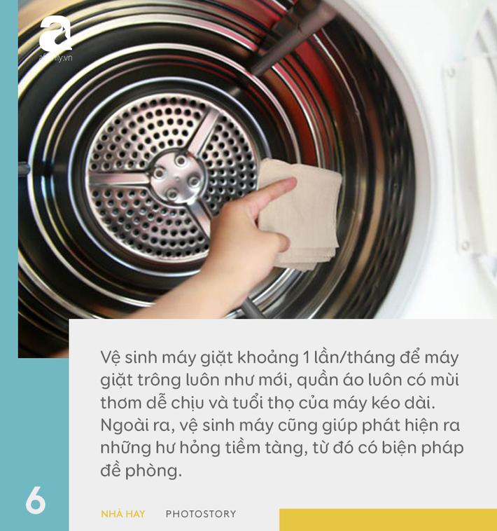 6 hướng dẫn hữu ích cho việc sử dụng máy giặt đúng cách, giúp tăng tuổi thọ dùng được trên 10 năm-6