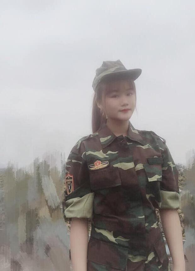 Bất chấp bị bố mẹ ngăn cản, nữ sinh Bắc Giang 18 tuổi bảo lưu đại học, nộp đơn lên đường đi nghĩa vụ quân sự-3