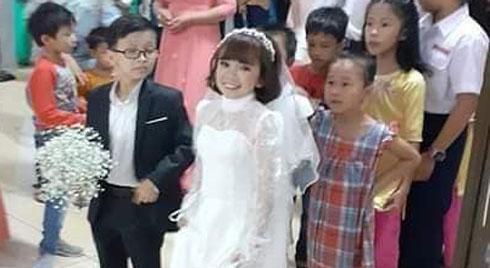 """Đám cưới của cặp đôi tí hon từng bị nhầm là """"con nít ranh"""" chính thức tổ chức tại quê nhà"""