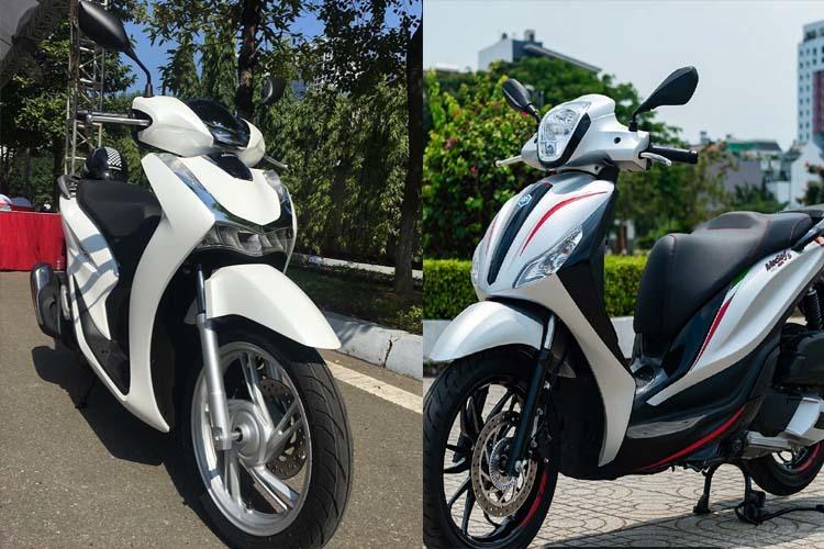 Giá trên 70 triệu, chọn Honda SH 2020 hay Piaggio Medley?-1