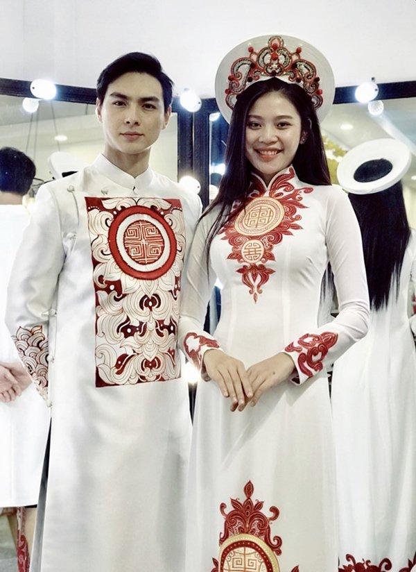 Đông Nhi và những mỹ nhân Việt chọn áo dài trắng thuần khiết trong lễ vu quy-10