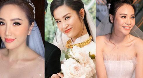 Đến đám cưới Bảo Thy là có thể khẳng định: Hầu hết các cô dâu showbiz Việt đều