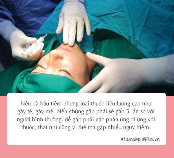Vì sao phụ nữ đang mang thai tuyệt đối không được phẫu thuật thẩm mỹ?-2