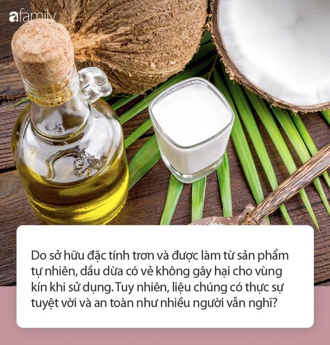 """Giải đáp của chuyên gia: Liệu có an toàn khi sử dụng dầu dừa thay cho chất bôi trơn trong chuyện ấy""""?-1"""