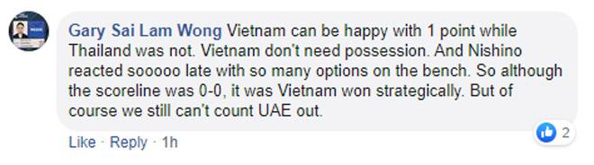 Triệu fan Việt Nam tấn công trọng tài, fan Thái Lan khen 1 SAO quá hay-10