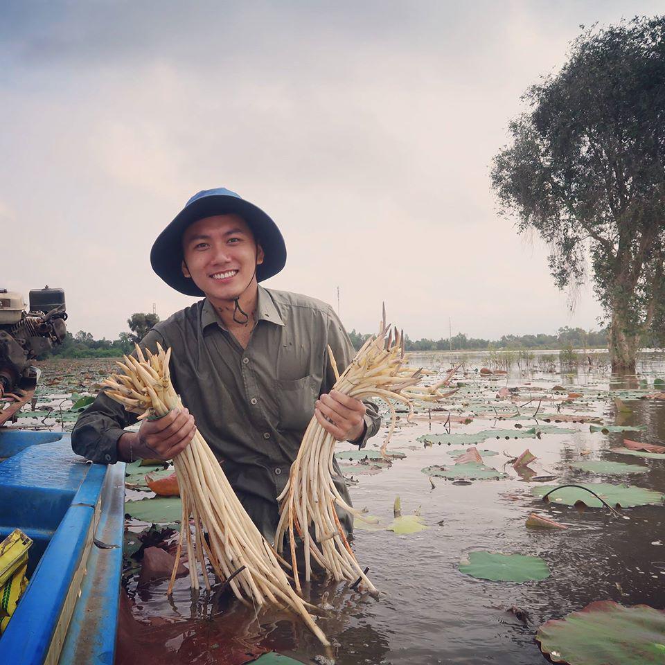 Khoai Lang Thang: Chàng kỹ sư có nụ cười tỏa nắng quyết bỏ việc để đi... lang thang-5