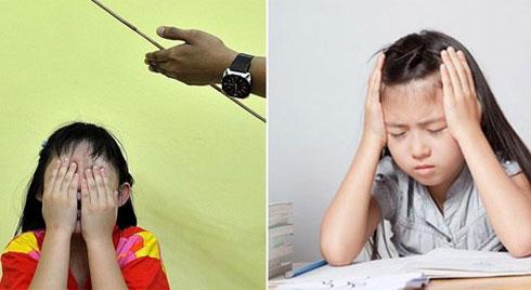 Mẹ đánh vào đầu con gái vì làm sai bài tập, chẳng lâu sau mẹ phải khóc trong hối hận