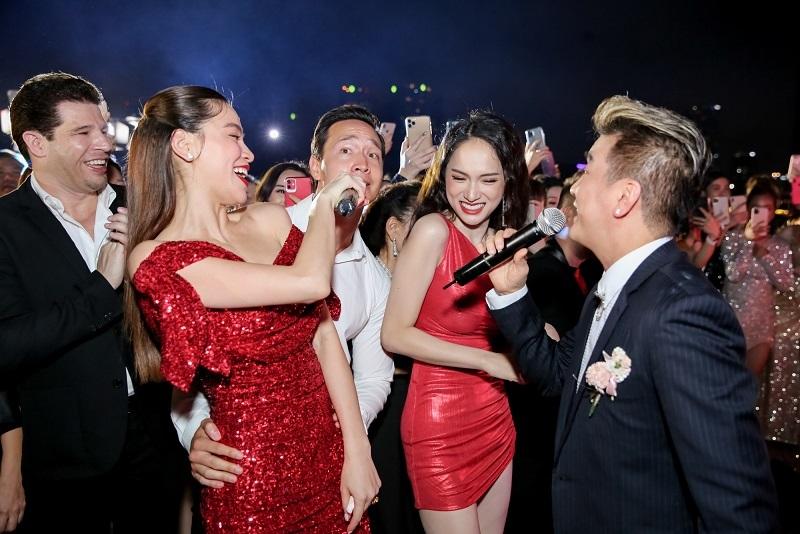 Hồ Ngọc Hà tưng bừng đón tuổi 35 bên Đàm Vĩnh Hưng, Hương Giang-6