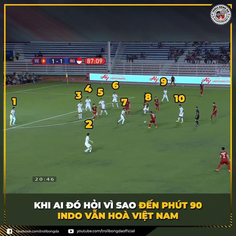 Loạt ảnh chế gây sốc về trận U22 Việt Nam 2-1 U22 Indonesia-10