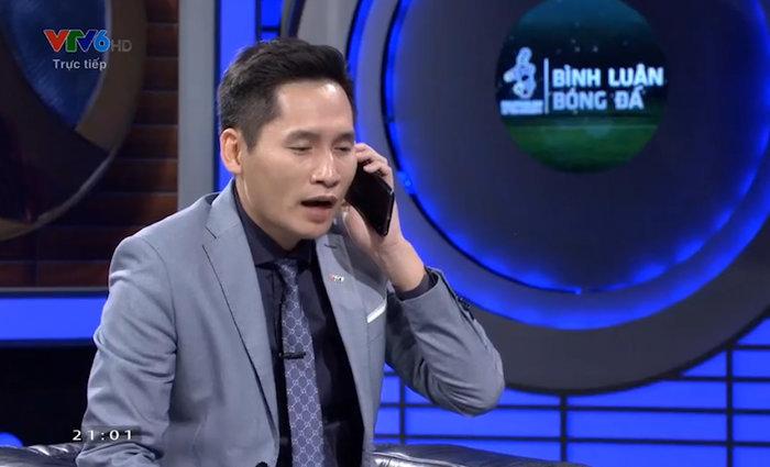 BTV Quốc Khánh gây tranh cãi khi gọi Văn Lâm sau sai lầm của Tiến Dũng-1