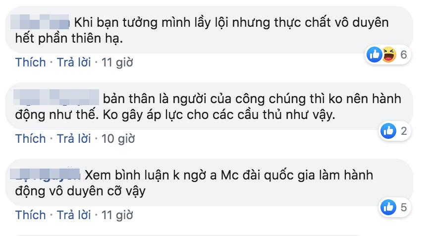 BTV Quốc Khánh gây tranh cãi khi gọi Văn Lâm sau sai lầm của Tiến Dũng-2