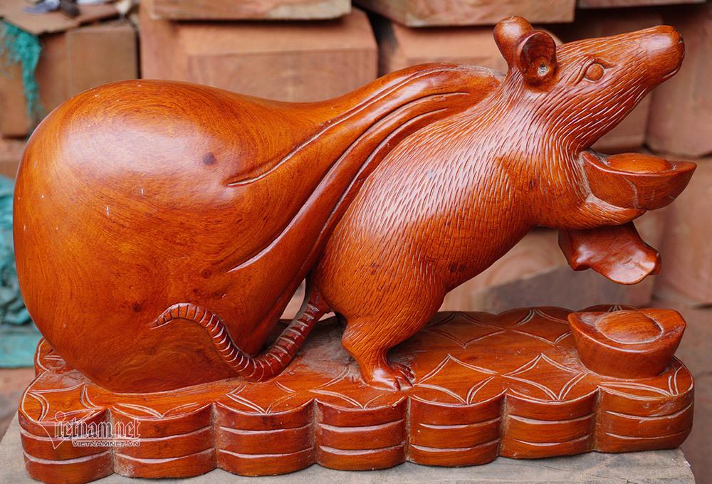 Tròn mắt thấy con chuột khổng lồ bóng loáng, nặng 10kg-5