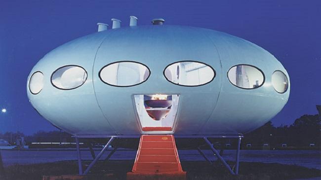 Ngôi nhà siêu nhẹ, siêu rẻ như đĩa bay ngoài hành tinh