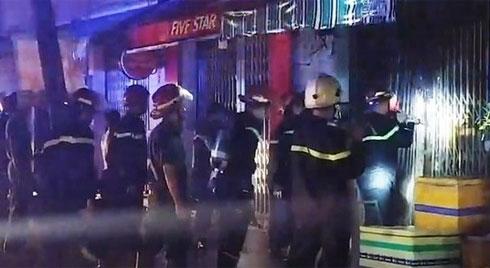 2 phụ nữ và cháu bé thiệt mạng trong vụ cháy nhà ở Sài Gòn