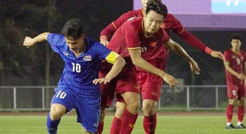 Đội hình ra sân U22 Việt Nam vs U22 Campuchia: Bùi Tiến Dũng bắt chính